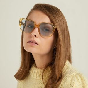 Celine square sunglasses.